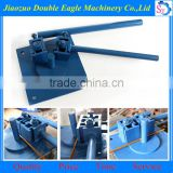 Construction Site small hand rebar bender machine/manual Reinforcing Steel Crooking Machine