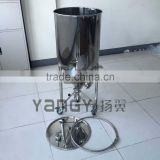 100L stainless steel conical fermenter micro beer brewing equipment