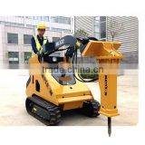 Attachments hydraulic breaking hammer for compact skid steer loader .hot sale,crawler or wheel model