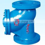Cast Iron Angle Steam Stop Valves/Cast Iron / Ductile Iron Rubber Valve Resilient Seated