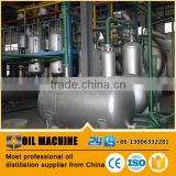 small capacity continous system cheap price waste engine oil distillation equipment
