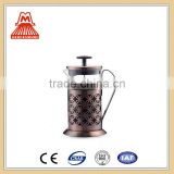 China Supplier low price W124-CP049 Good Selling Stainless Steel Coffee Press Copper