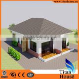 2015 Beautiful Design China Supplier Modern Steel Prefab Duplex Villa