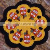 trendy high quality and eco friendly new products felt wholesale desk mat on alibaba express made in china for halloween