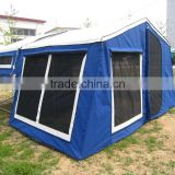 4WD Chinese off road military shovel hard floor camper trailer tent
