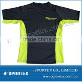 OEM men's running t shirt with sporty design