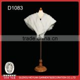D1083 Ivory Fashion Faux Fur Wrap for Wedding Bridal