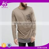 Guangzhou Shandao Autumn High Quality Custom Brand Men Tee Shirt Long Sleeve With Printing