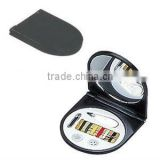 Promotional sewing kit with mirror/sewing box/hotel sewing kits