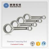 Motorcycle engine parts of crank connecting rod type piston rod