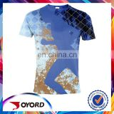 Custom sublimation men running shirts