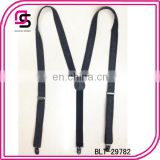 Suspenders for man,black fabric man suspenders,jeans suspenders
