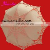 lLace black and white umbrella