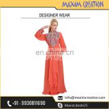 Uniquely Designed Embroidery Caftan For Australian Women By Maxim Creation