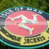 ISLE OF MAN PATCH RUBBER PVC 3D