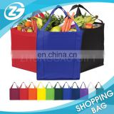 promotion polypropylene recycled blue non woven bag