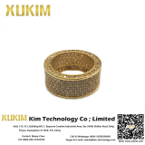 Xukim CZR006 Gold Ring Design for Male and Female