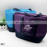Durable Waterproof Oxford Cloth Picnic Tote Bag Organizer with Zipper Closure