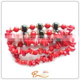 2016 New Customized colorful lava glass bead bracelet , fashion bracelet , natural stone bead bracelet