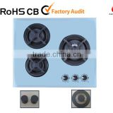 cast iron tempered glass gas stove