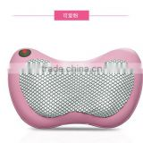 Top quality and great price factory newest portable massage pillow,newest electric shiatsu,massage pillow