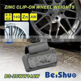 Zinc Clip-on Wheel Weight