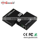 25km, single RJ45 port, single fiber, fiber optic media converter