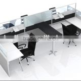 3 person Modern cubicle office furniture workstations design