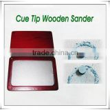billiard Cue Tip Wooden Sander for billiard game                                                                         Quality Choice