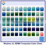 Hot Sale Synthetic Turquoise Color Chart