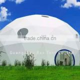 Geodesic dome tent Event dome tent White PVC cover Inflatable gazebo for sale