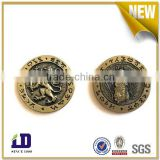 Washing machine metal game token coin