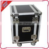 20 U heavy duty wheel amplifier rack case