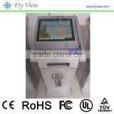 19 inch Financial Equipment Bank Self-Service Touch Screen Kiosk Terminal                                                                         Quality Choice