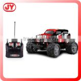 Popular plastic toys 4CH 1:10 buggy big wheels cross country 4wd rc truck