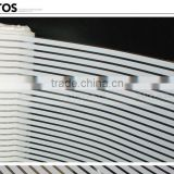 Decorative PET 4mm Wide White Stripe Glass Sun Protection Film Similar to 3M Window Film                                                                         Quality Choice