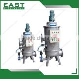 Automatic backwash stainless steel cartridge filter housing