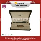 Fancy fountain pen gift packaging box paper(WH-0692-ML)
