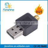 Fanshine Indoor 150Mbps USB Wifi Lan Adapter With Antenna Computer Network Card 802.11n g b