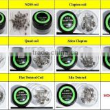 Premade coils/Prebuild Coils - DIY Flat twisted wire Fused clapton coils Hive prebuilt twisted coil Wholesale from Anyvape