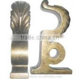 Majestic Gold Decorative Curtain Rod Brackets Double Curtain Rod Brackets Curtain Rod Mounting Brackets