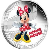 Fashion design ODM/OEM silver commemorative coins