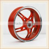 13 inch motorcycle alloy wheel, disc brake