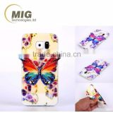 Colorful 3D Blu ray Butterfly tpu Cell phone case For samsung s6 s6 edge/for iphone/for lg...