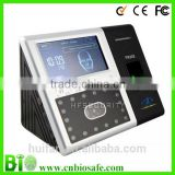 Backup Battery ID Card Printing Eye Scanner Time Attendance Biometric Face Recognition System (HF-FR302)