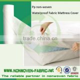 Sunshine supply 100% PP spunbond nonwoven fabric for waterproof mattress and furniture cover