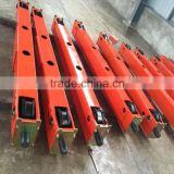 10T 16.5M span end carriage for bridge crane and gantry crane single beam lifting crane