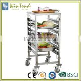 Mobile Restaurant Catering Equipment Basket Trolley