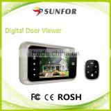 "3.5"" Long Standby Time Video Door Eye Hole Viewer Camera/ electronic door bell"