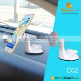 2016 New suction dashboard magnetic mount Cartoon phone holder and most popular car accessary factory supply